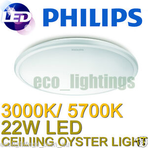 Philips-LED-Oyster-Ceiling-Light-Fitting-22W-Slimline-Replace-Circular ...