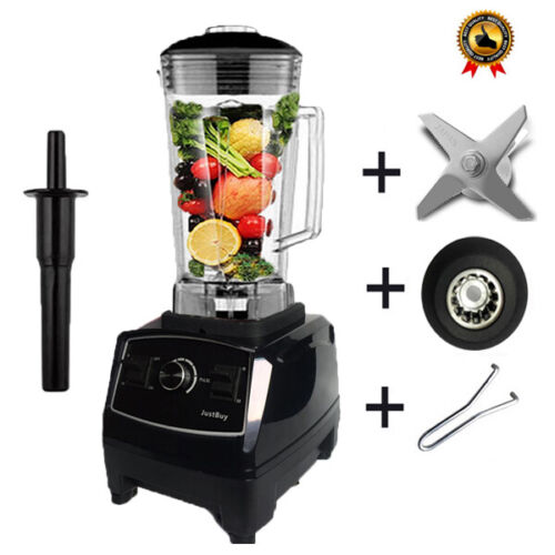 Home Smoothies Power Blender Machine Food Mixer Fruit Processor 3HP BPA 2200W