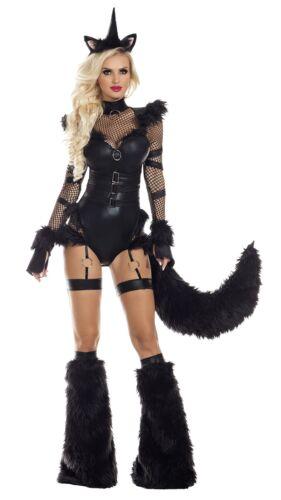 Party King Black Unicorn Womens Costume