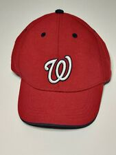 47 Forty Seven Brand Washington Nationals Red Sure Shot Snapback Cap Limited