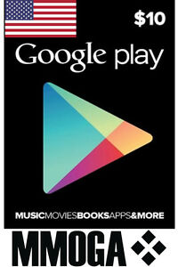 10-USD-Google-Play-Gift-Card-10-US-Dollar-Gutschein-USA-Android-Store-Code-Key
