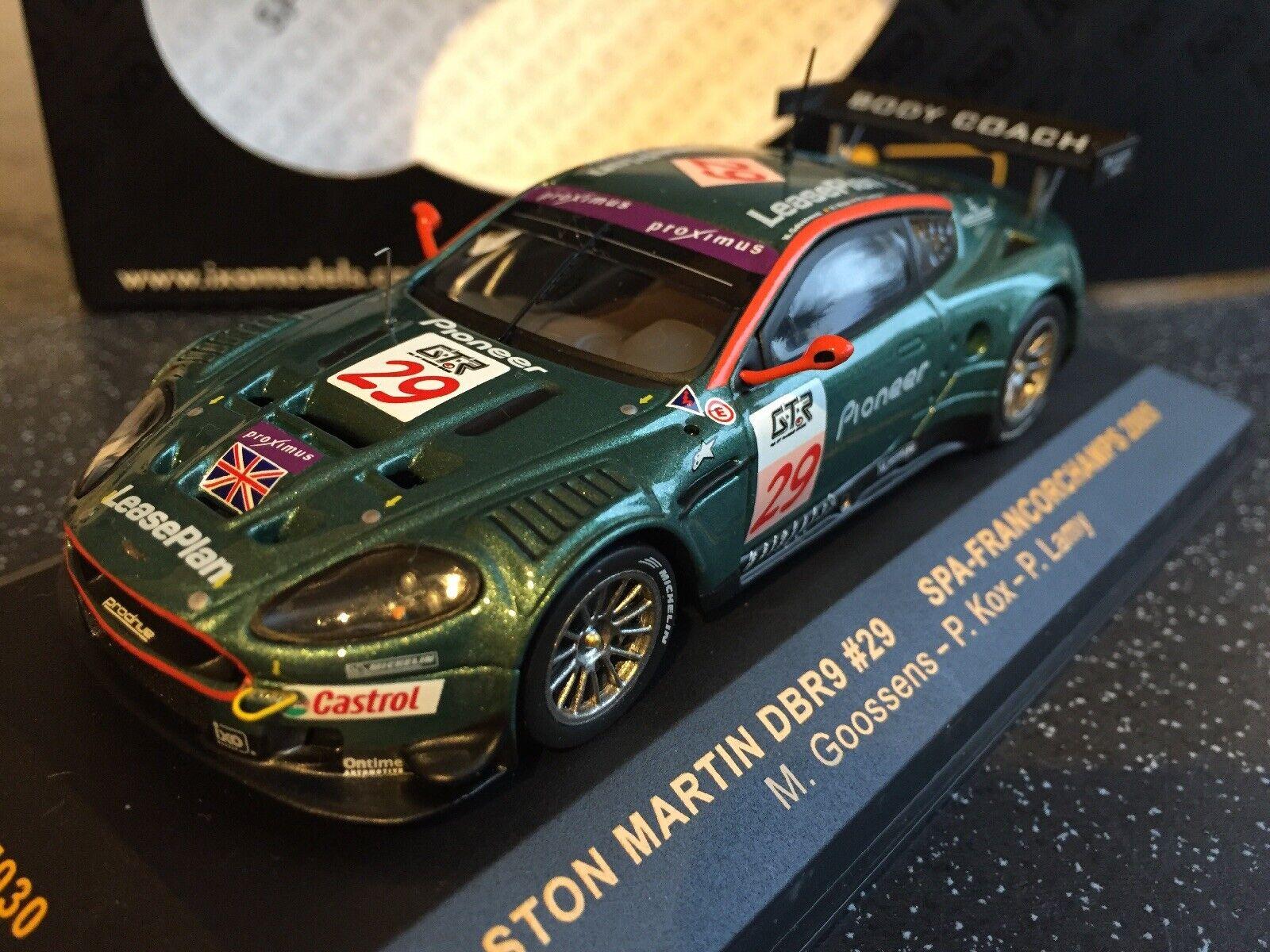 IXO Aston Martin DBR9 #10 2008 GTM078 escala 1:43