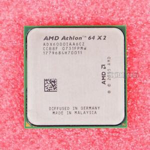 Original Amd Athlon 64 X2 6000 Cpu 3 Ghz Dual Core Socket Am2 Am2 Processor Ebay
