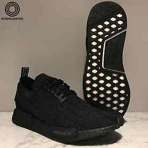 the best attitude a6470 c8aa7 Image is loading ADIDAS-NMD-R1-PK-039-PITCH-BLACK-039-