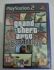 Grand Theft Auto San Andreas GTA  PS2 Playstation 2 ITALIANO NUOVO SIGILLATO RAR