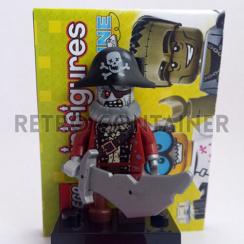 col212 LEGO Minifigures Collectibles Omino Minifig Serie 14 Zombie Pirate