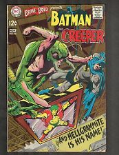 Brave and the Bold #80 ~  Batman vs Hellgrammite ~ 1968 (4.0) WH