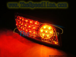OEM RED LED Rear Bumper Reflector Light Lamp Fits 07 08 09 HYUNDAI Santa Fe