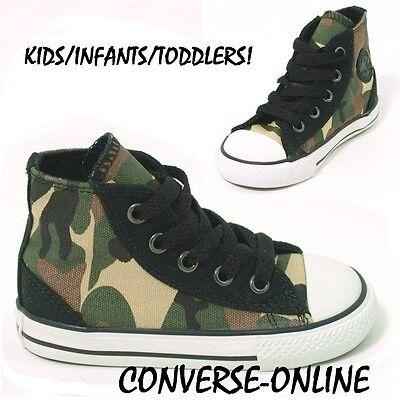 Converse Little Boys' Chuck Taylor All Star Ox Camo Casual