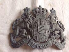 plaque Bavaroise en FER  en reproduction pour casque a pointe