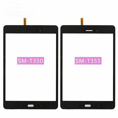 Not Include LCD White Touch Screen Replacement for Samsung Galaxy Tab A 8.0 SM-T350 T350 Digitizer Glass Assembly Pre-Installed Adhesive with Professional Tool Kits