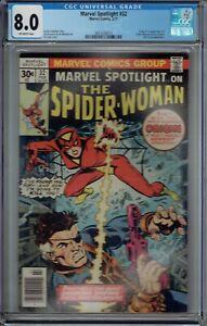 CGC 8.0 MARVEL SPOTLIGHT #32 1ST APPEARANCE OF SPIDER-WOMAN 1977