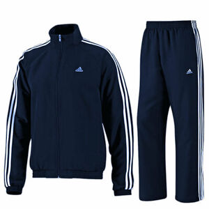 adidas Essential 3 Streifen Climalite Trainingsanzug