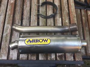 Yamaha-R1-2002-2003-Titanium-Arrow-Exhaust-Can-amp-Link-Pipe