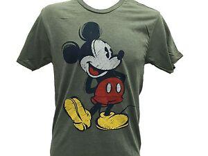 Disney-Mickey-Mouse-Classic-Retro-Vintage-Cartoon-Original-Men-039-s-T-Shirt-S-2XL