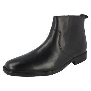 Mens-Clarks-Ankle-Boots-039-Tilden-Zip-039