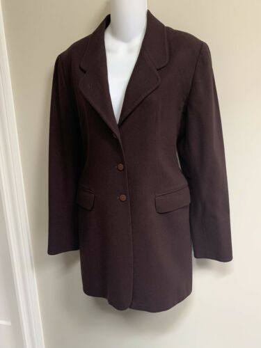 Claude Montana Paris Vintage 100%Wool Jacket Coat~