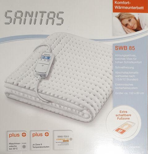 Sanitas swb85 comfort termico sotto letto con 9 livelli di temperatura SWB 85 coperta termica
