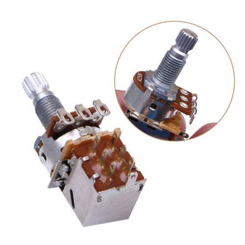 Potentiometer Push//Pull 250k used for humbucker coil tapping electric guitar mod