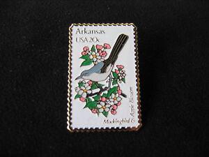 Image Is Loading SC 2200 Arkansas Mockingbird Apple Blossom Mail 1982