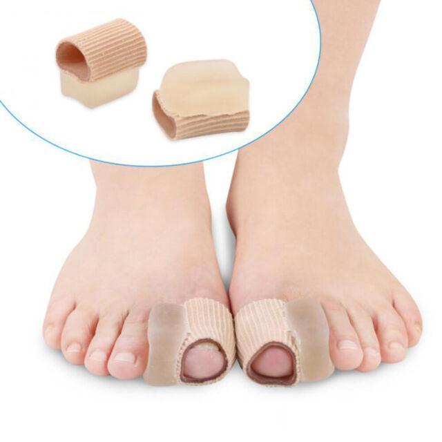 1Pair Silicone Gel  Straightener Toe Separator Corrector Relief Foot Care Tool i