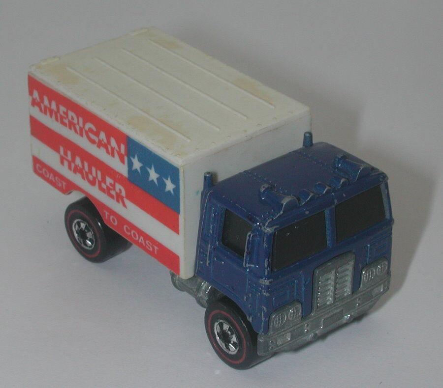 Redline Hotwheels bluee 1976 American American American Hauler oc17462 3e9034