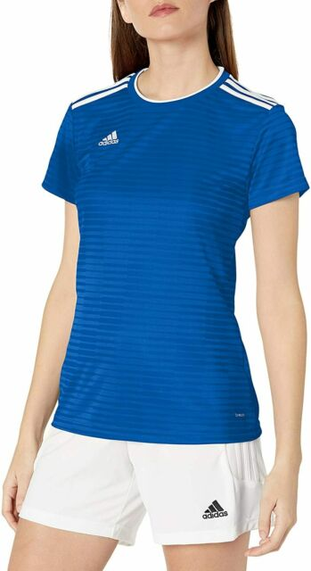 adidas Women's Condivo 18 Jsyw Cf0701 Size Small Blue and White ...