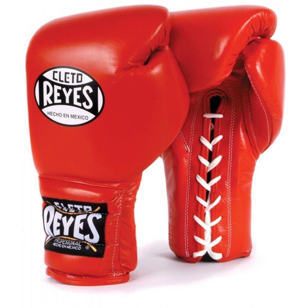Cleto Reyes Boxe Guanti tradizionale lacci Sparring Guanto professionale per adulti