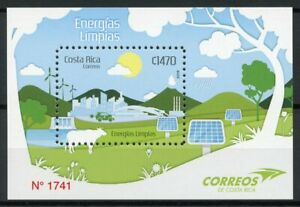Costa-Rica-Environment-Stamps-2019-MNH-Clean-Energy-Cows-Trees-Cars-1v-M-S