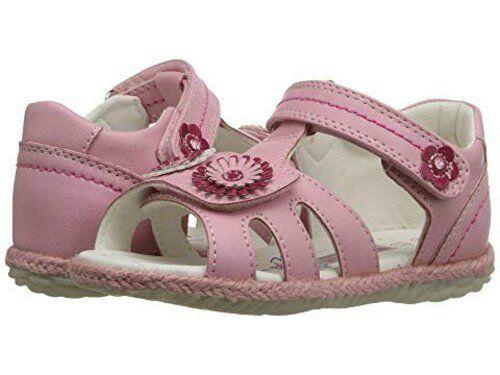 US 7 8 8.5 9.5 NIB Girls Sandals Beeko Fallon II Pink EU 23 24 25 26