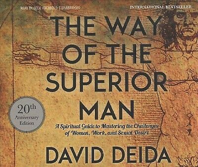 Way Of The Superior Man By David Deida Compact Disc Book Ebay