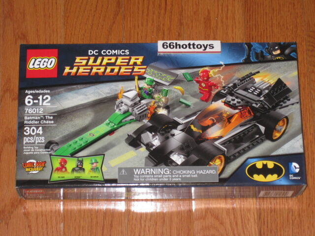 LEGO 76012 DC COMICS SUPER HEROES Batman The Riddler Chase NEW