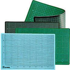 30 x 22 cm Ecobra Profi Schneidematte grün//schwarz