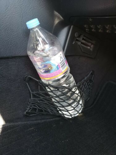 MERCEDES-BENZ w202 RETE BAGAGLI beifahrerfussraum nero con klips 10