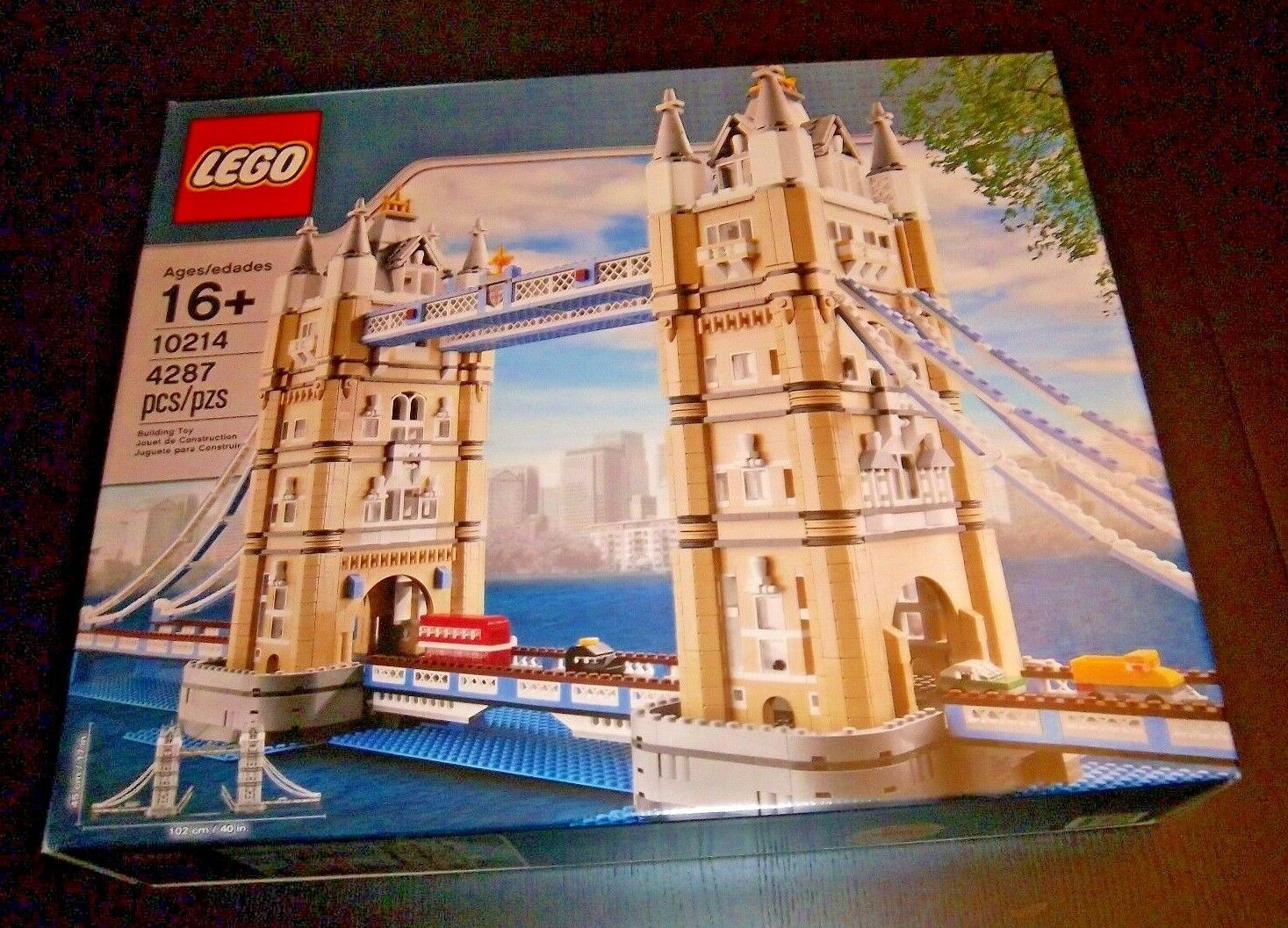 LEGO TOWER BRIDGE - NEW IN BOX - RETIRED - OUT OF PRODUCTION