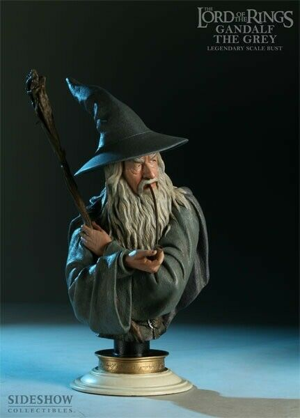 Gandalf Legendary Scale Bust Statue Sideshow Weta LOTR The Hobbit