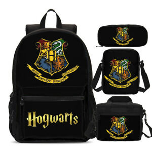 Harry Potter Hogwarts Teens Backpack Insulated Lunch Box