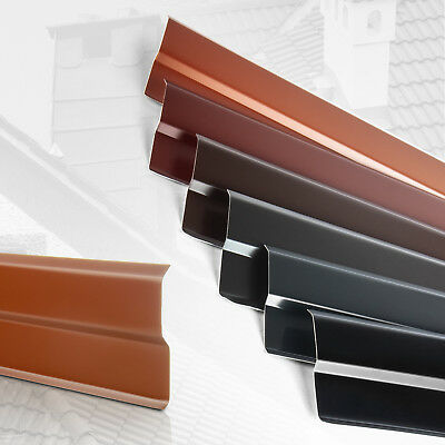 Aluminiumblech Wandanschlussleiste Wandanschlussschiene 2 Meter Farbe GRAPHIT