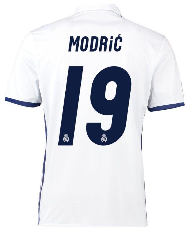 Trikot Real Madrid Champions League Final Cardiff Cardiff Cardiff 2017 - Modric 19 194803