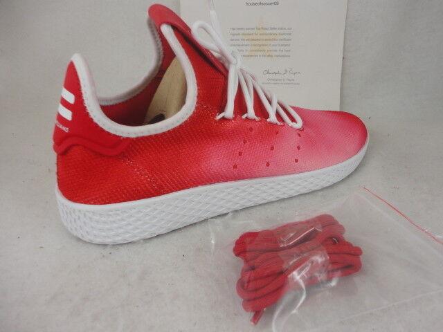 Adidas PW HU HOLI Tennis HU, Red   White, Tie-dye Style, Size 9.5