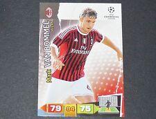 VAN BOMMEL MILAN AC UEFA PANINI CARD FOOTBALL CHAMPIONS LEAGUE 2011 2012