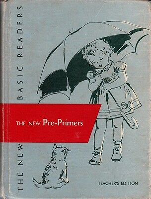 RARE 1956 DICK AND JANE TEACHER EDITION 4-BOOKS-IN-1 VINTAGE reader pre-primers