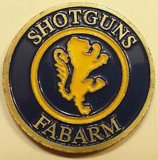 Heckler & Koch International Training Division Shotguns FABARM Challenge Coin