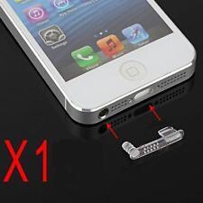 Stopper Antipolvere Cuffie Dock Tappo Doppio Trasparente per Iphone 5 5S 5C SE