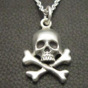 Mjg sterling silver skull bones pendant biker guitar player image is loading mjg sterling silver skull amp bones pendant biker mozeypictures Choice Image