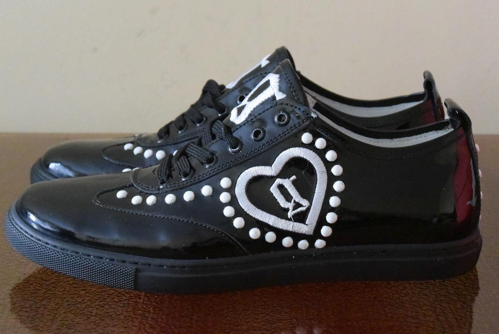 John Galliano Leather Sneakers Sz. 7.5 2971