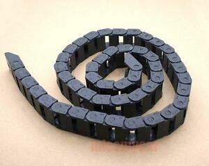 1-Cable-drag-chain-wire-carrier-18-25mm-R48-1000mm-40-034-M-M-S