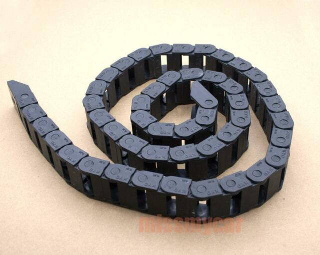 1 Cable drag chain wire carrier 18*25mm*R48 1000mm(40