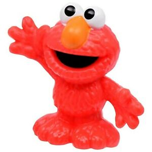 Details About Sesame Street Singles 3 1 2 Birthday Cake Topper Figurines Toy Set Elmo