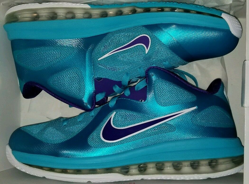 031d4b417cab Nike LeBron 9 Low Summit Lake Hornets 10 10 10 all star xmas elite south  beach